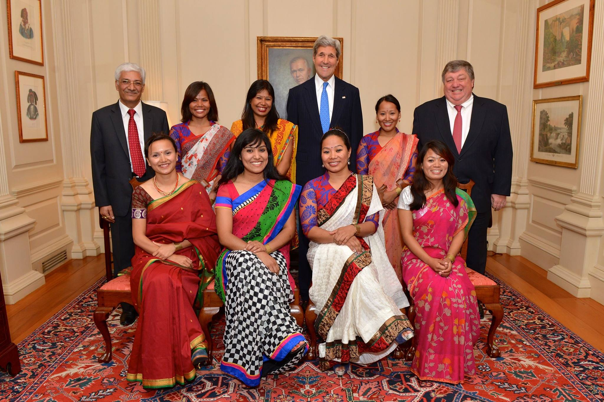 Seven Summit Women-John Kerry